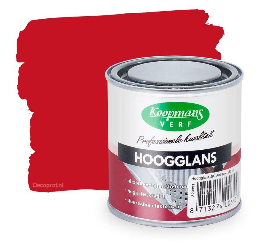 Hoogglans 330 Signaalrood