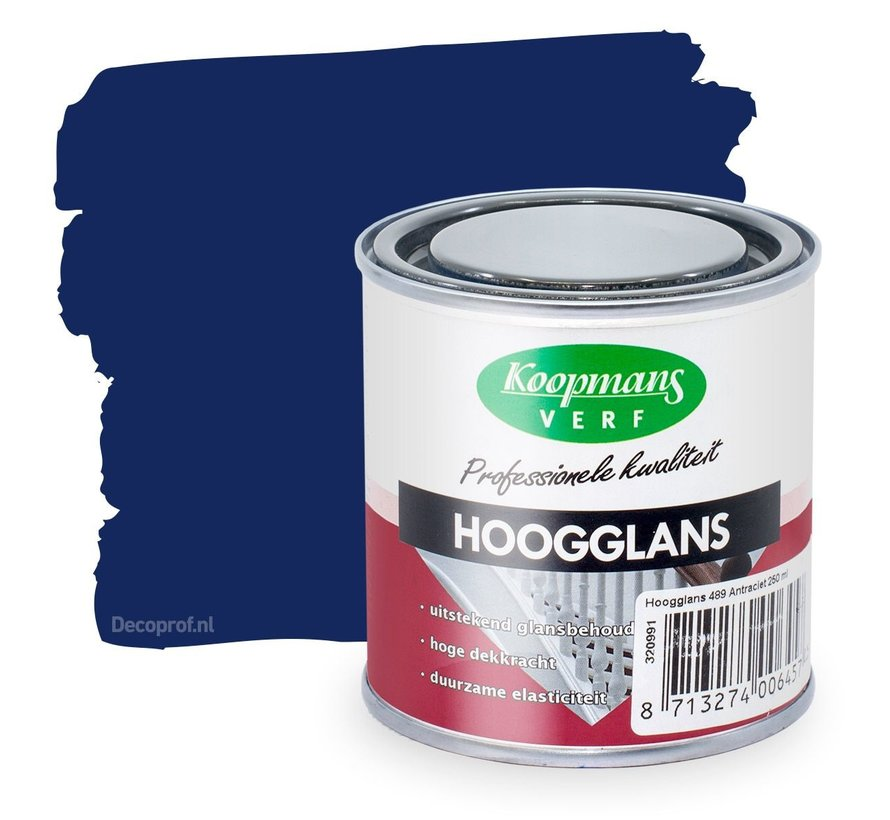 Hoogglans 42 Blauw