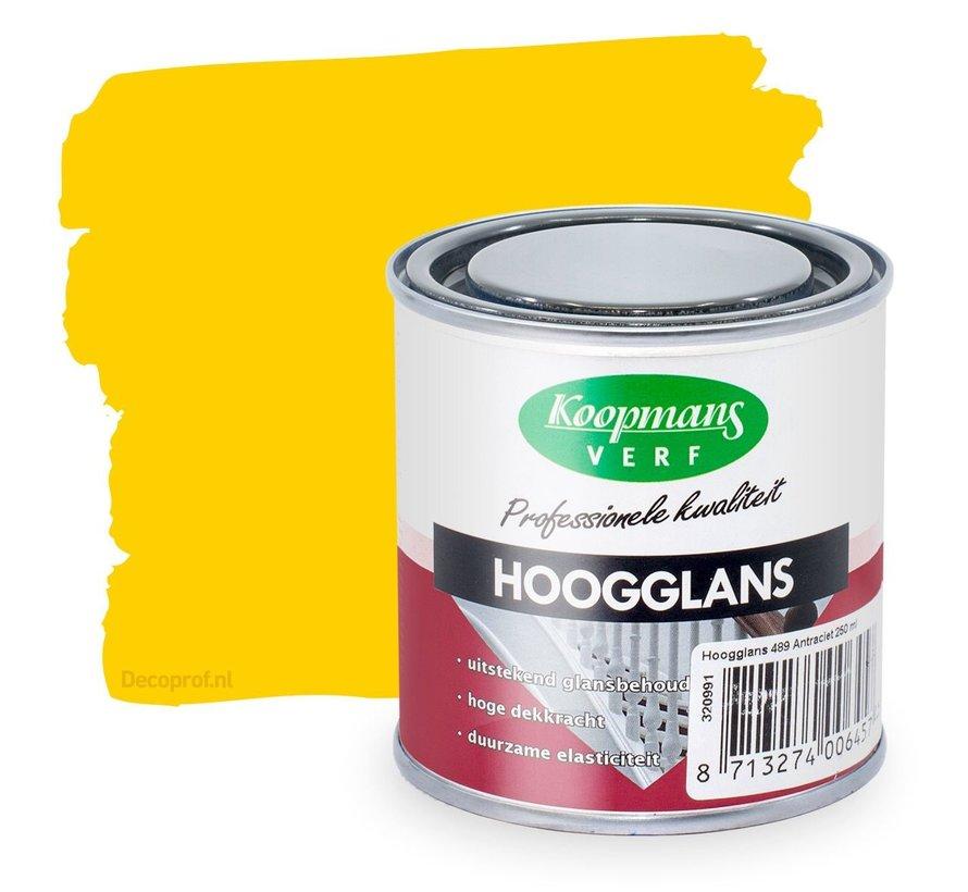 Hoogglans 45 Geel