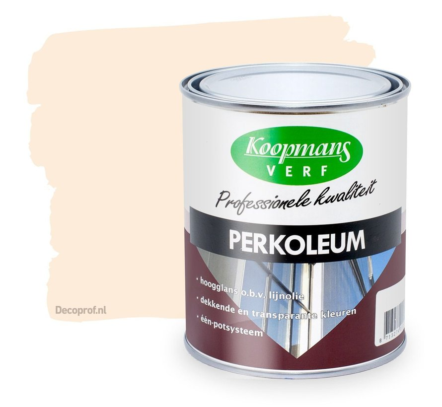 Perkoleum Hoogglans Dekkend 9001 Creme Wit