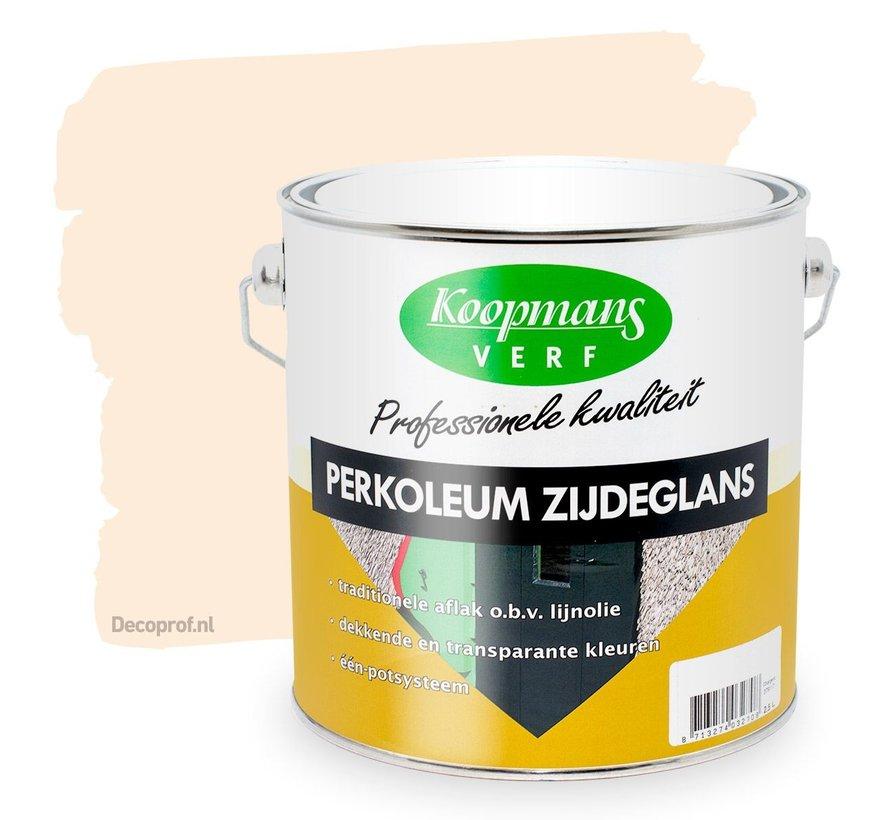 Perkoleum Zijdeglans Dekkend 9001 Creme Wit