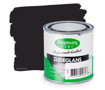 Koopmans Zijdeglans 570 Zijde Zwart