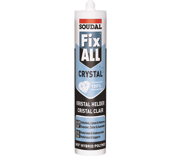 Soudal Fix-All Crystal Lijmkit Transparant Koker