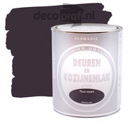 Hermadix Deuren&Kozijnenlak Extra Zijdeglans Puur Zwart