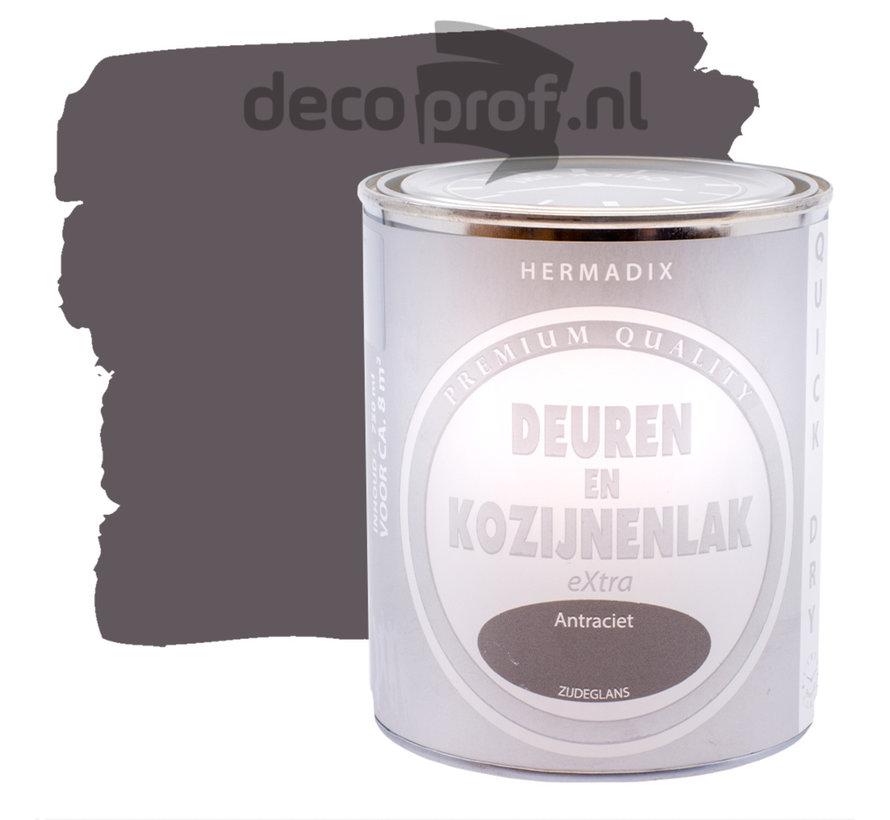Deuren&Kozijnenlak Extra Zijdeglans Antraciet
