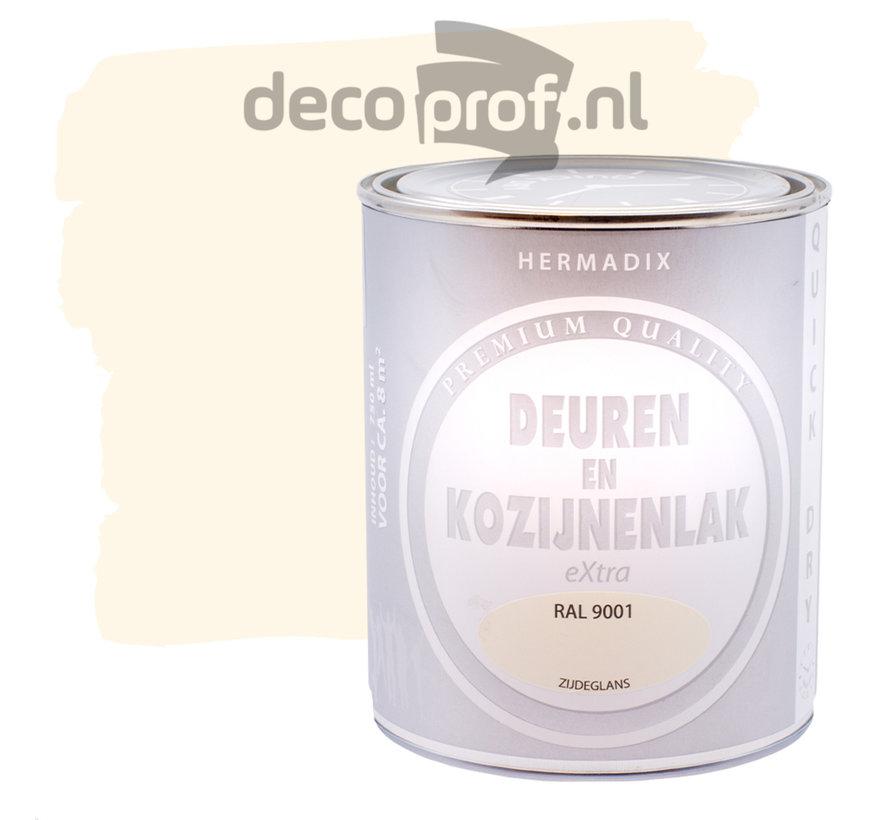 Deuren&Kozijnenlak Extra Zijdeglans RAL9001