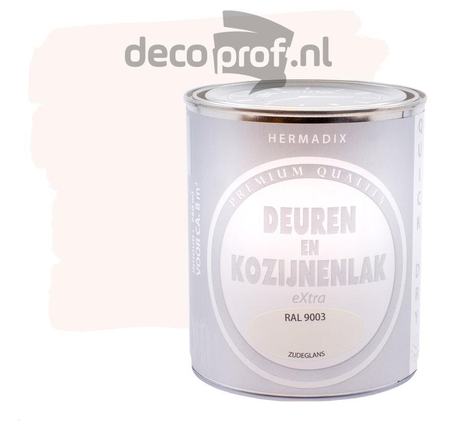 Deuren&Kozijnenlak Extra Zijdeglans RAL9003