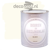 Hermadix Deuren&Kozijnenlak Extra Zijdeglans RAL9010