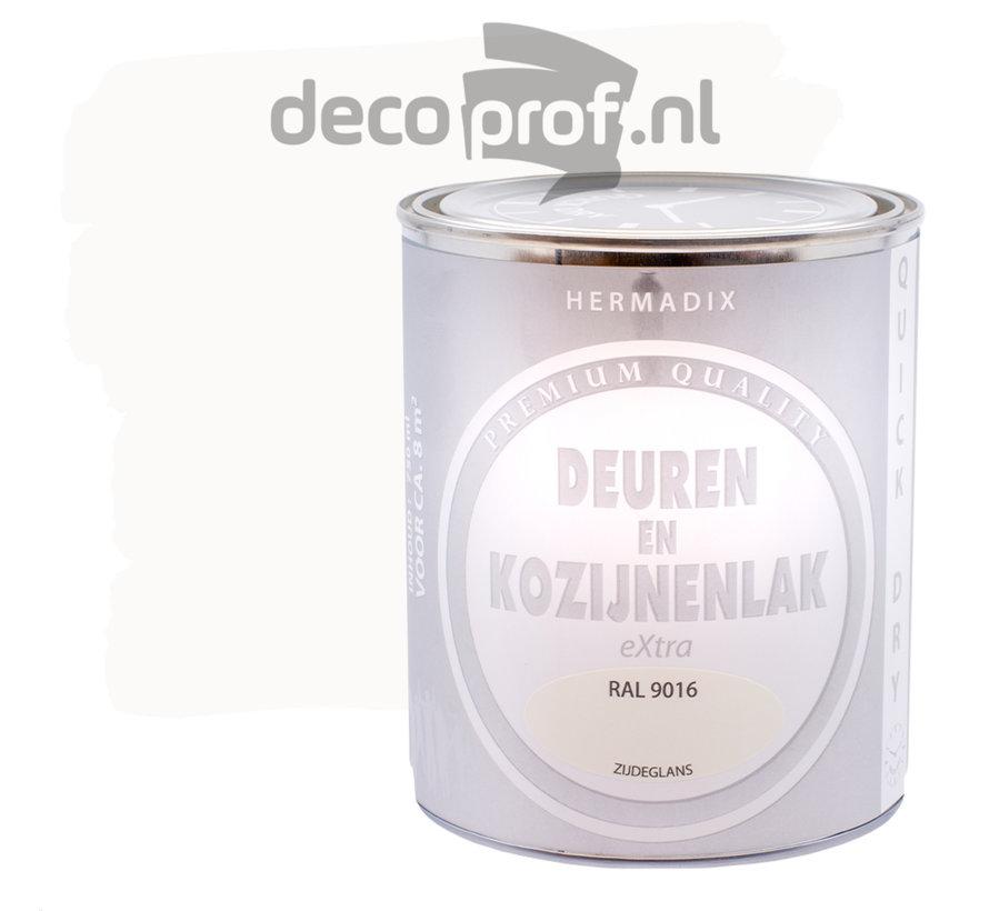 Deuren&Kozijnenlak Extra Zijdeglans RAL9016