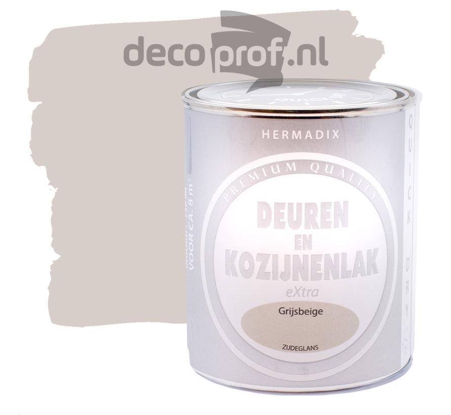 Deuren&Kozijnenlak Extra Zijdeglans Grijsbeige
