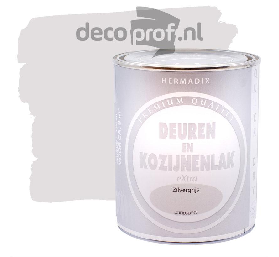 Deuren&Kozijnenlak Extra Zijdeglans Zilvergrijs