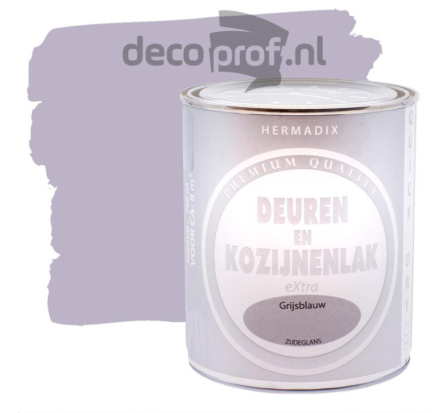 Deuren&Kozijnenlak Extra Zijdeglans Grijsblauw