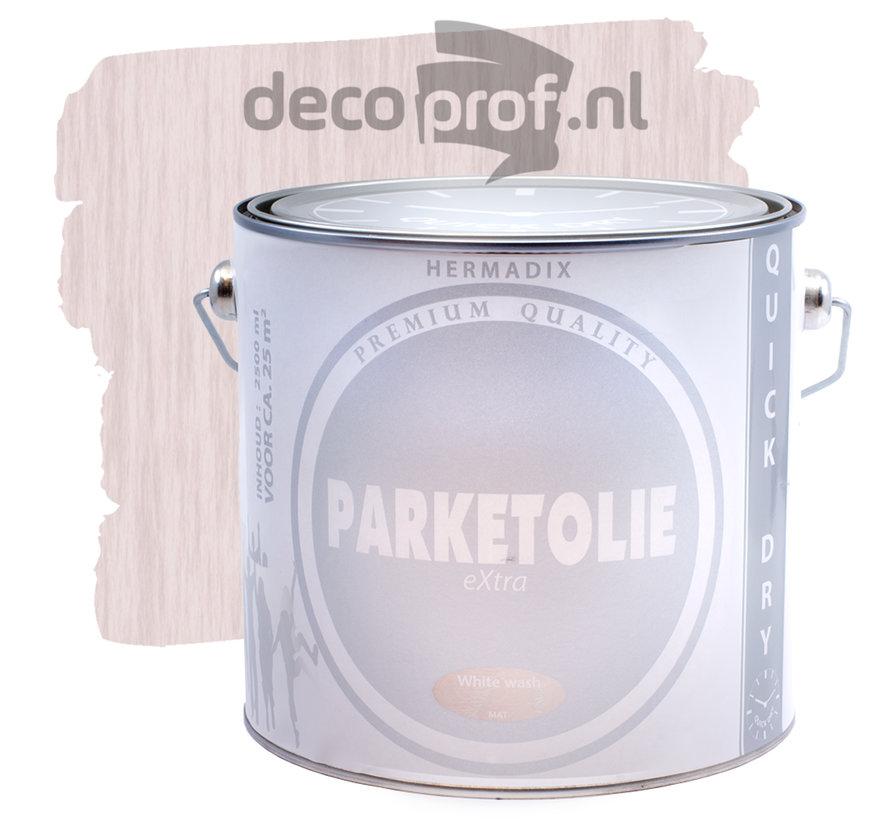 Parketolie White Wash