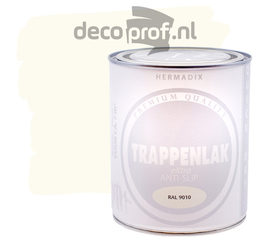 Trappenlak Extra RAL9010