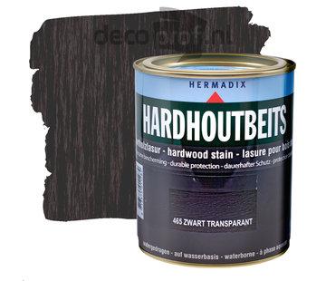 Hermadix Hardhoutbeits Transparant Zwart
