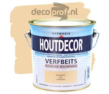 Hermadix Houtdecor Dekkend Zandgeel