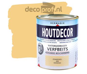 Hermadix Houtdecor Dekkend Zonnegeel
