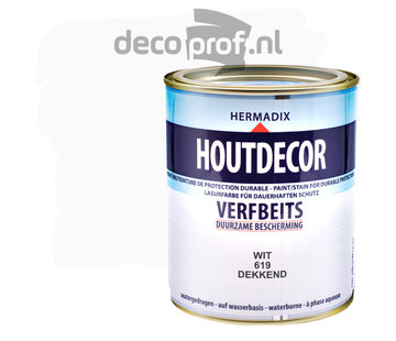 Hermadix Houtdecor Dekkend Wit