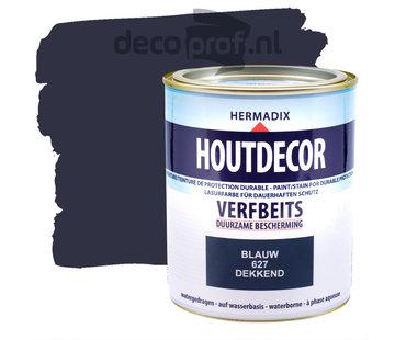 Hermadix Houtdecor Dekkend Blauw