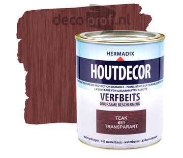 Hermadix Houtdecor Transparant Teak
