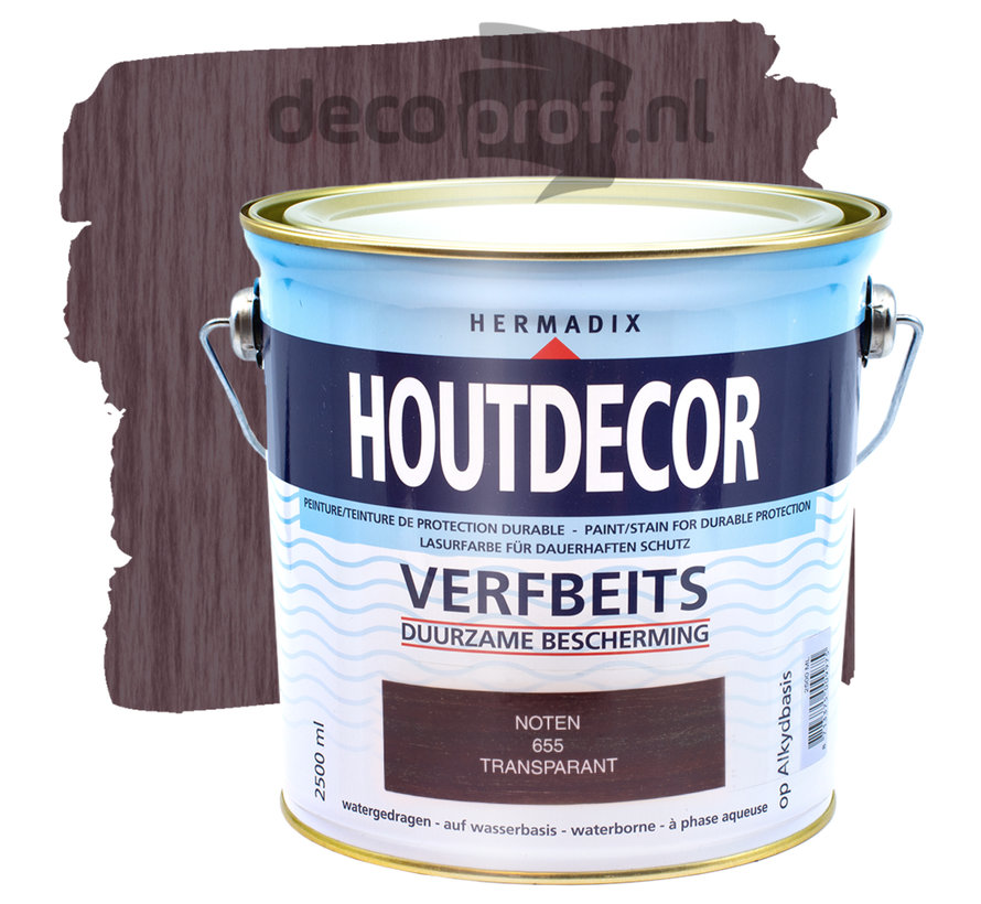 Houtdecor Transparant Noten