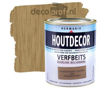 Hermadix Houtdecor Transparant Groen