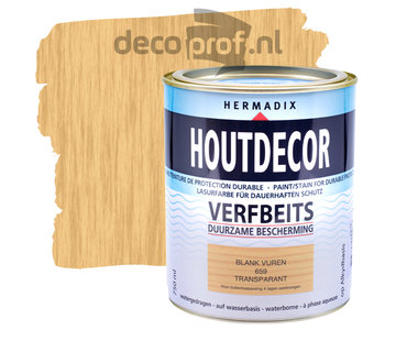 Hermadix Houtdecor Transparant Blank Vuren