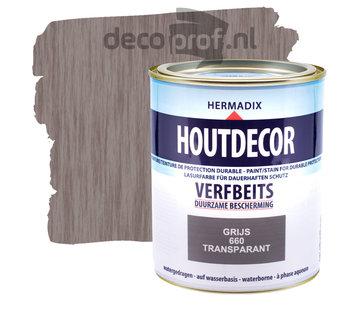 Hermadix Houtdecor Transparant Grijs