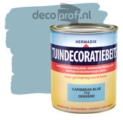 Hermadix Tuindecoratiebeits Dekkend Caribbean Blue