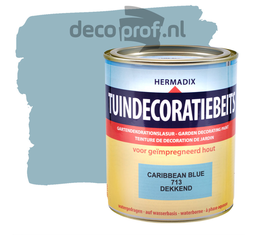 Tuindecoratiebeits Dekkend Caribbean Blue