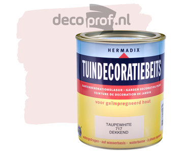 Hermadix Tuindecoratiebeits Dekkend Taupe White