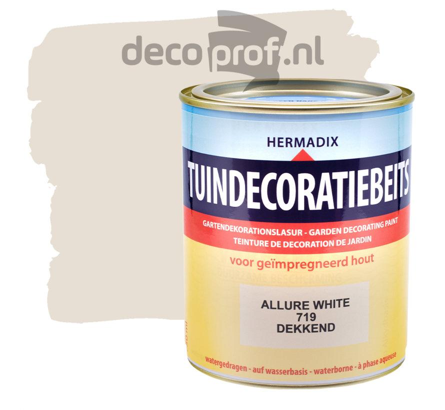 Tuindecoratiebeits Dekkend Allure White