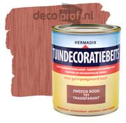 Hermadix Tuindecoratiebeits Transparant Zweeds Rood