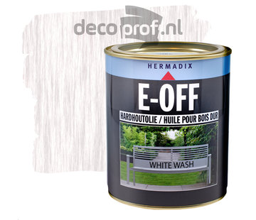 Hermadix E-Off Hardhout Olie White Wash