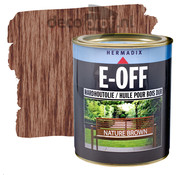 Hermadix E-Off Hardhout Olie Nature Brown