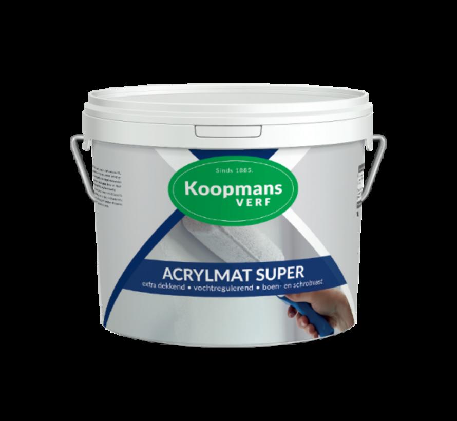 Acrylmat Super   Matte Muur- & Gevelverf