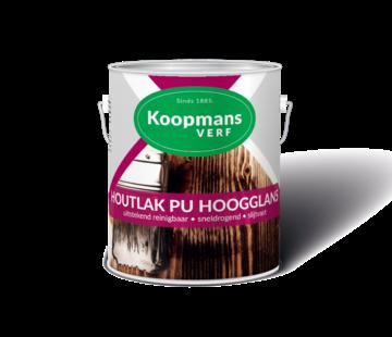 Koopmans Houtlak PU Hoogglans Blank