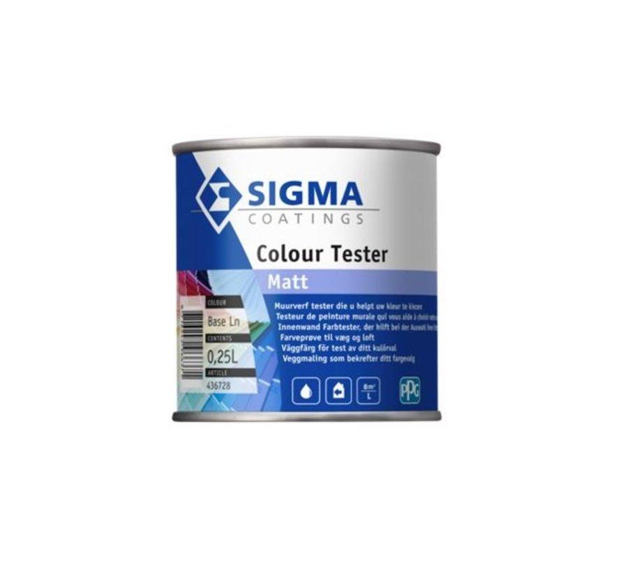 Colour Tester Matt | Matte Muurverf Kleurtester