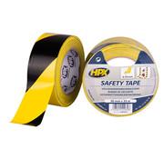 HPX Tapes Zelfklevende Markeringstape Geel/Zwart 33 mtr