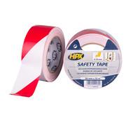 HPX Tapes Zelfklevende Markeringstape Wit/Rood 33 mtr
