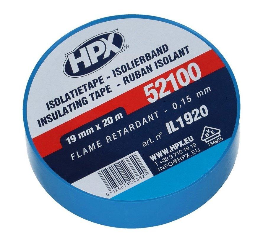 PVC Isolatietape Blauw 20 mtr