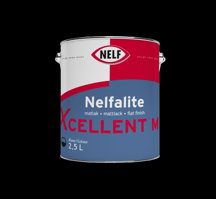 Nelfalite Xcellent Mat | Matte Lakverf Binnen & Buiten