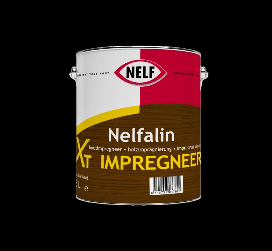 Nelfalite XT Impregneer   Zijdeglans Impregnerende Beits