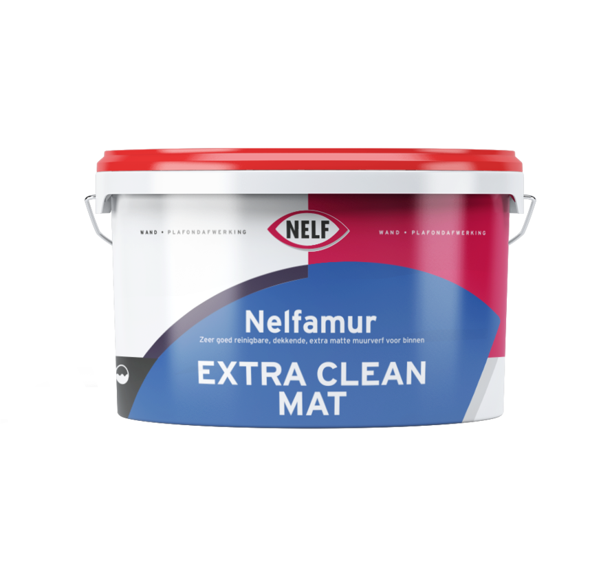 Nelfamur Mat Extra Clean   Reinigbare Matte Muurverf