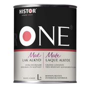 Histor One Lak Mat Alkyd (Terpentinegedragen)