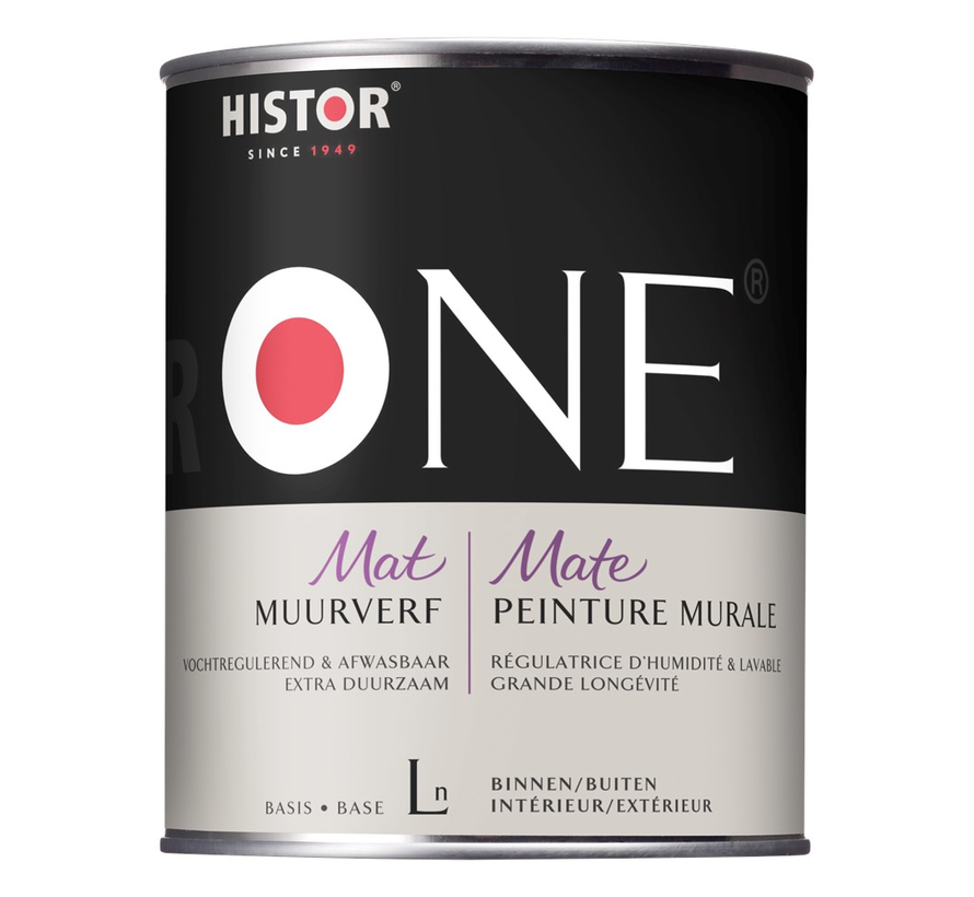 One Muurverf Mat Vochtregulerend & Afwasbaar