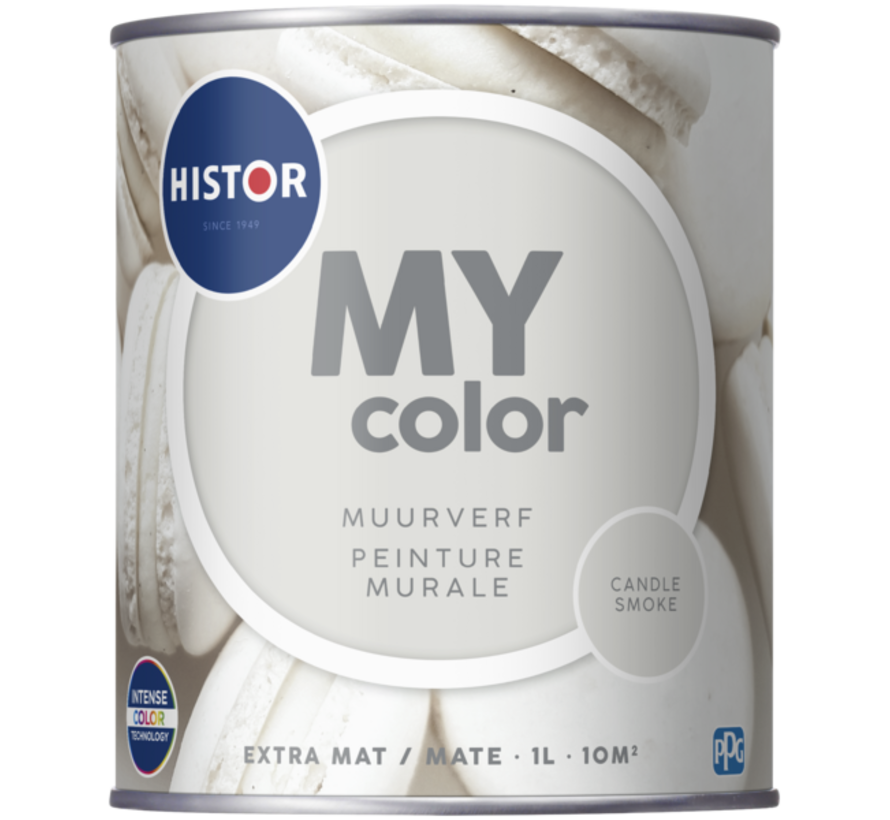 My Color Muurverf Extra Mat Candle Smoke