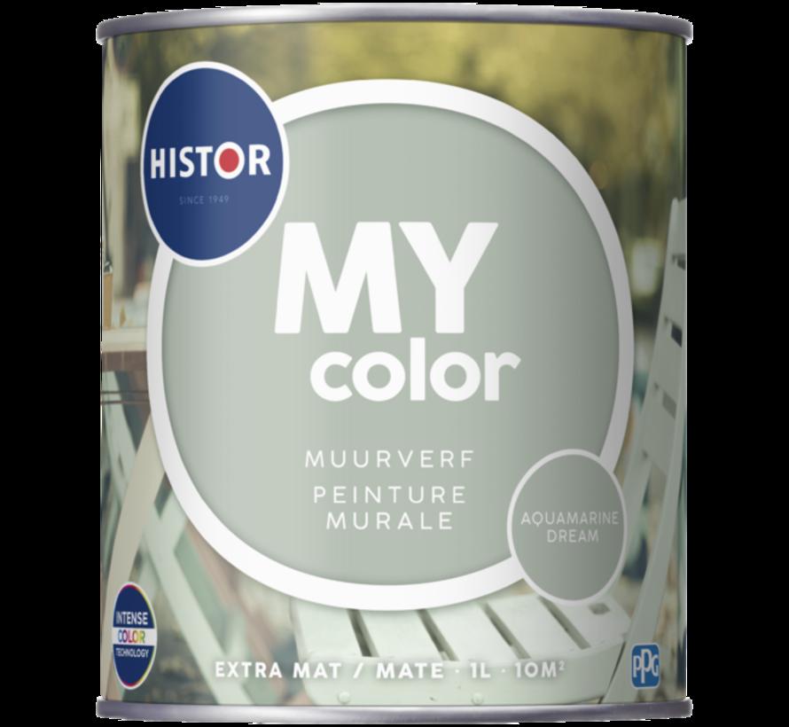 My Color Muurverf Extra Mat Aquamarine Dream