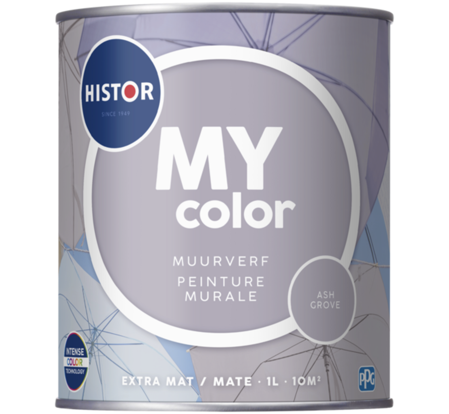 My Color Muurverf Extra Mat Ash Grove