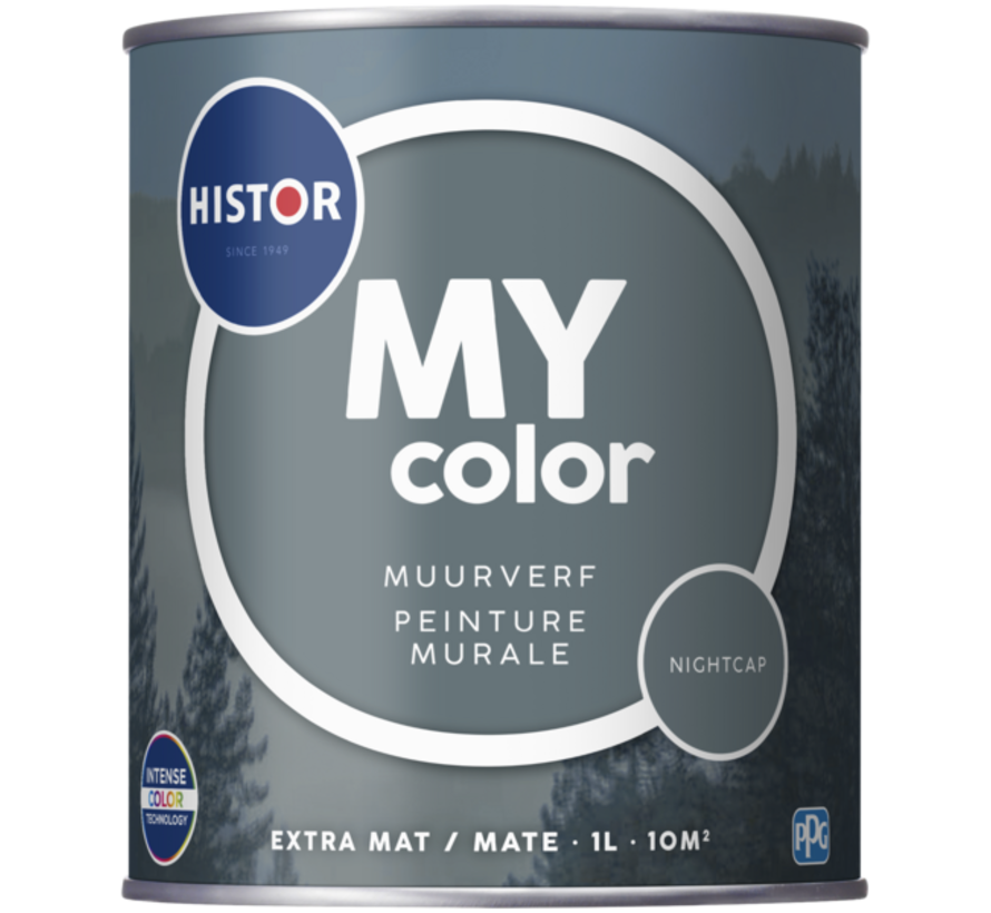 My Color Muurverf Extra Mat Night Cap